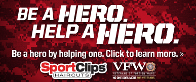 Sport Clips Haircuts of Fort Myers South​ Help a Hero Campaign